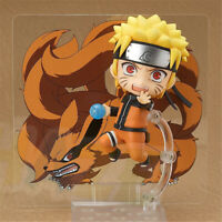 Naruto Shippuden Uzumaki Naruto Q Ver. 10cm PVC Figure Toy Collection New In Box