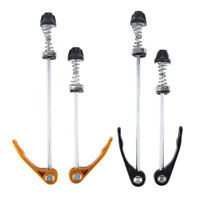 Pair Of Bike wheel skewers quick release clip bolt lever cycle bicycle skewer NF