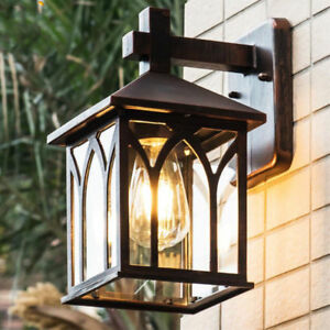 Outdoor/Indoor Waterproof Retro Wall Lights Sconce Garden Light Wall Lamp