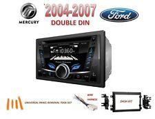2004-2007 FORD MERCURY 2 DIN CAR STEREO KIT, BLUETOOTH USB AUX CD