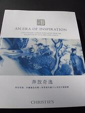 CHRISTIE'S  CHINESE CERAMICS March 2015 PORCELAIN  CURTIS COLLECTION BLUE WHITE