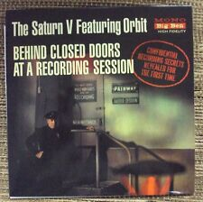 """SATURN V FEATURING ORBIT Behind Closed Doors At A Recording Session 7"""" NEW beat"""