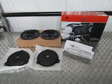 """14-17 Harley Davidson FLHX FLHTCU FLHTK FLHTCUTG Boom Audio 6.5"""" Front Speakers"""
