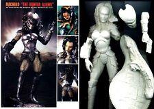 "13""Machiko Female Predator Thai's Sculpt Resin Kit 1/6"