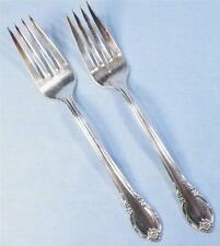 2 Remembrance Salad Forks Silverplate Fork 1847 Rogers Bros Silver Plate 1948 IS