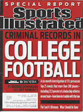 """Sports Illustrated 3/7/2011""""Criminal Records in College Football"""" Special Report"""