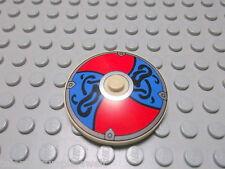 Lego 1 Radar Schüssel 4x4 tan beige bedruckt rot bl. 3960pb016 3960px21 Set 7020