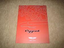 Aston Martin Cygnet Prospekt Brochure von 9/2010, 24 Seiten, deutsch