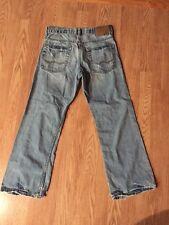 Men's American Eagle Bootcut Jeans Sz 28 Inseam 27 Distressed