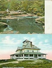 Fitchburg MA Collector's Set: Wachuett Mountain House and Falulah Brook