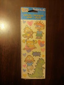 Rugrats Temporary Tattoos Nickelodeon Vintage