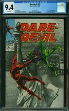 Daredevil #45 CGC 9.4 -- 1968 -- Statue of Liberty photo cvr. Jester #2004079016