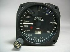Simtek Radar Aircraft Altimeter 10-0716-01 Altitude 0 to 5000 Feet - NEW