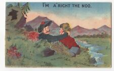 I'm A'right The Noo Romantic Scottish Comic 204 Postcard 759b