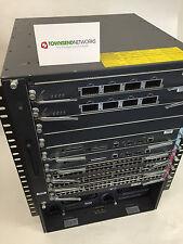 Cisco WS-C6509-E w/ 2x WS-SUP720-3BXL 3x WS-X6748-GE-TX, 2x WS-X6704-10GE DUAL A