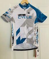 Pearl Izumi NWT Women's XS Cycling Bike Jersey Full Zip NEW Lifetime Cycle Elite