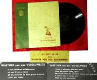 25cm LP Walther Reyer liest Walther von der Vogelweide (Amadeo AVRS 2017 X) A