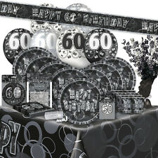 Articoli in argento compleanno adulto per feste e occasioni speciali