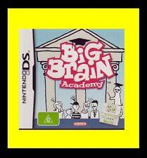 Big Brain Academy Nintendo NDS DS Lite DSi XL Brand New