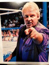 Bobby The Brain Henan autographed PHOTO 8x10 Signed WCW WWE TNA #1 R.I.P.