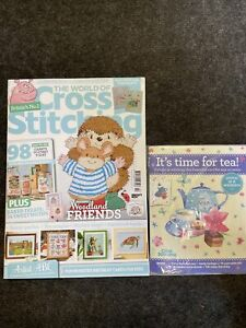 World Of Cross Stitching Magazine Sept 21 Issue 310 With Gift