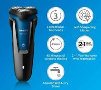 Philips Aqua-touch Wet and Dry Rechargeable Cordless Shaver Close Cut Blade