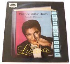 LIBERACE  LP Piano song book movie themes     SCARCE UK VINYL LP