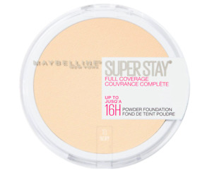 Maybelline Superstay Full Coverage Powder, 010 Ivory