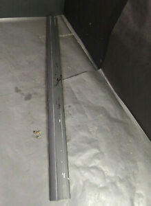 Roof-Mounted Luggage Rack Cross Rail Bar with Screws, Aluminum, Black