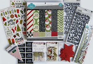 Heidi Swapp (BELIEVE) 12x12 Paper Pad, Banner Kit & Embellishments  -  Save 55%