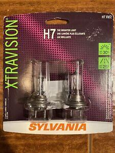 Sylvania H7 XV/2 TWIN packs XTRAVISON THE BRIGHTER LIGHT Halogen Headlight NEW