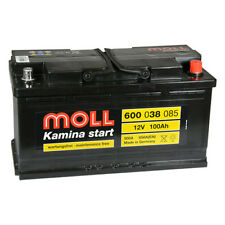 MOLL Kamina Start 600 038 085 Autobatterie 12V 100Ah Mercedes M-Klasse