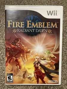 Fire Emblem: Radiant Dawn Wii Tested No Manual