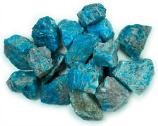 1 lb Wholesale Blue Apatite Rough Stones - Tumbling Tumbler Rocks, Reiki, Wicca