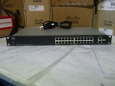 Cisco SG200-26P 26-Ports POE switch. 2 year Warranty Real time listing
