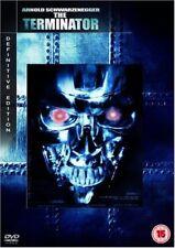 THE TERMINATOR Schwarzenegger Hamilton Biehn MGM Definitive Ed DVD 5039036030700