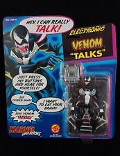 MOC Talking VENOM Toy Biz Vintage 1991 MARVEL Comics Spider Man Symbiote Villain