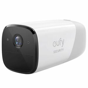 Eufy - eufyCam 2 Pro Indoor/Outdoor 2K Add-on Smart Home Security Camera - White
