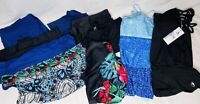 Lot Of Swimwear Size 2XL 3XL Mixed Tops Bottoms Colors 11 Pieces Swimsuit Shorts