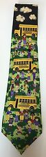 School Bus Students Kids Necktie Teacher Bus Driver Teach Me And I Will Learn