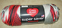 Red Heart Super Saver Pooling Yarn Haute Planned Pooling 5 oz/236 yds.