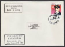 BR ANTARCTIC TERRITORY 1979 cover Royal Research Ship BRANSFIELD cachet.....T218