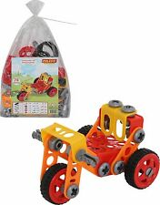 Childrens Construction Toy Kids Building Blocks 78Psc Tricycle Like Meccano NEW