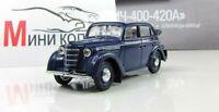 Moskvich 400-420A AutoLegends USSR 1949. Diecast Metal model 1:43. Deagostini