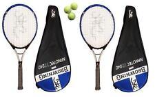 2 x Browning Nanotec 240 Tennis Rackets + 3 Tennis Balls RRP £550