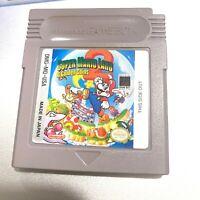 Super Mario Land 2: The 6 Golden Coins ORIGINAL NINTENDO GAMEBOY Game - Tested!