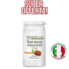 RISO ROSSO FERMENTATO plus integratore per colesterolo da 60 CPS monacolina K10