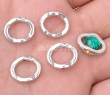 40pcs tibetan silvering charm Box Jewelry Making Spacer Beads Charms 15mm
