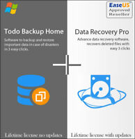 EaseUS Data Recovery 13.5  + ToDo Backup 12.8 - Lifetime Upgrades