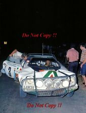 Sandro Munari Alitalia Lancia Stratos HF Safari Rally 1975 fotografía 2